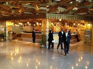 Oberoi Mena House reception, Cairo Nov 2012